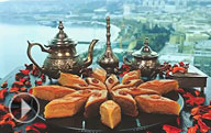 Video about the national cuisine of Azerbaijan.