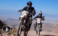 Video: Riding motorbikes through Kyrgyzstan