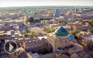 Video about main sightseeing attractions of Uzbekistan